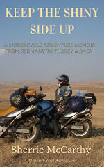 Sherrie McCarthy Motorcycle Adventure to Turkey and Back