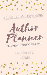 A workbook planner to plan your writing year